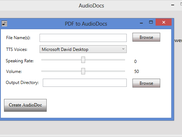 PDF to Audio Converter