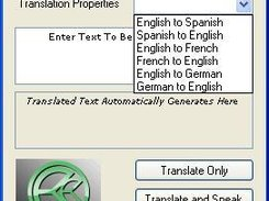 AutoLinguist for Windows (.NET) Language List