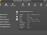 ASCOOS Web Server 1.4.4 -- Info Screen