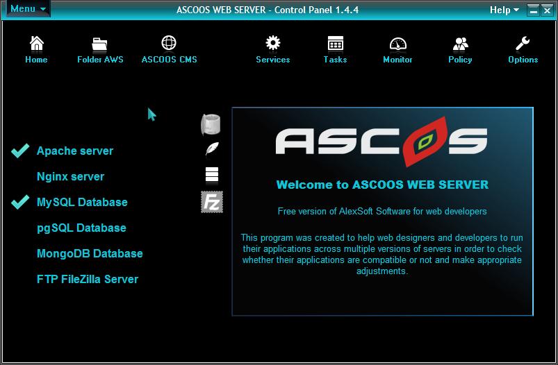 ASCOOS Web Server download   SourceForge net