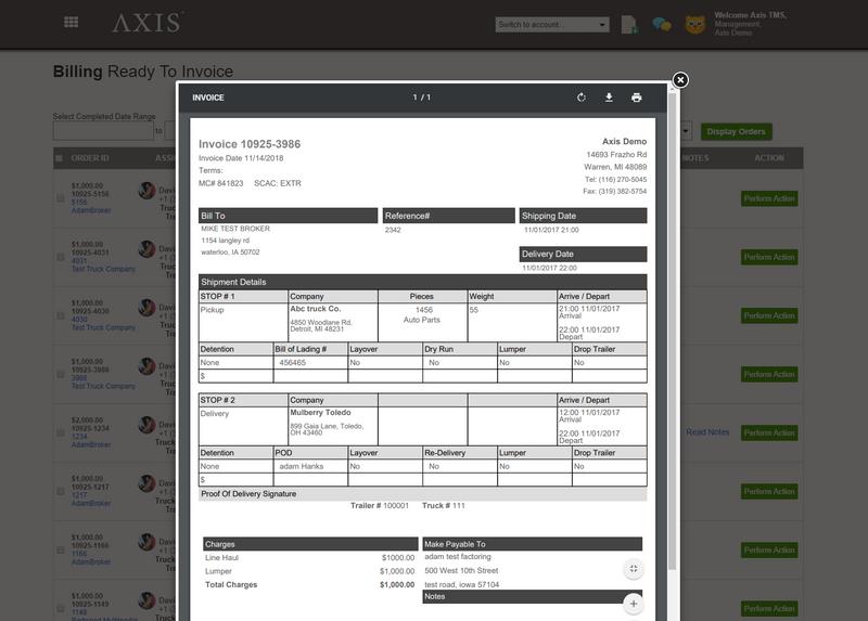 Axis TMS vs  Degama Trucking Software Comparison