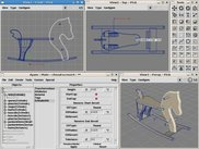 FloatingWindows GUI, Linux/X11, Modelling a Toy Horse
