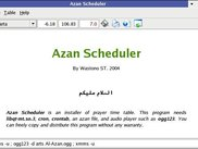 Azan Scheduler on KDE