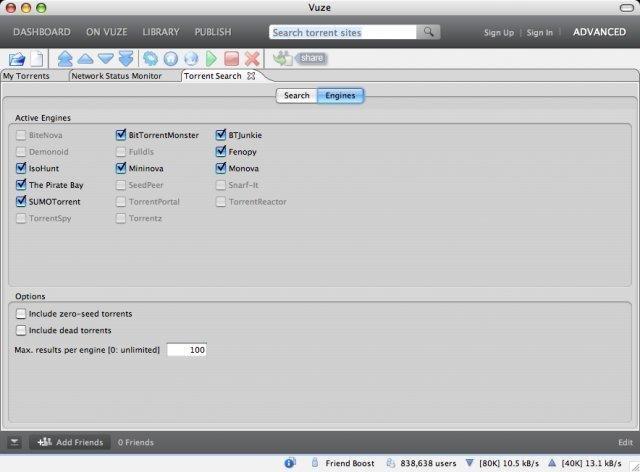Azureus/Vuze Torrent Search Plugin download | SourceForge.net