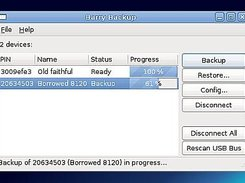 Barry Backup 0.16 performing a backup
