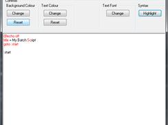 Batch Editor download   SourceForge net