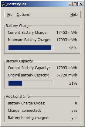BatteryCat download | SourceForge net