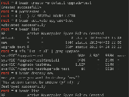 Example usage of beadm utility on FreeBSD.