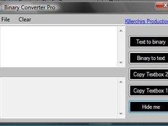 Binary Converter Pro download | SourceForge net