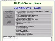 JAVA demo client for JDBC access to life science data
