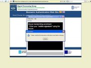 3.- The Java Web Start biometric client application