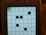 Puzzle number 7 shown on Nokia 6230i