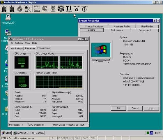 Bochs x86 PC emulator download | SourceForge net