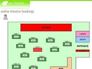 This shows a website integrated floor plan event.