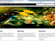 Main page with a slider.