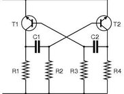 Electric circuit scheme obtained with Box