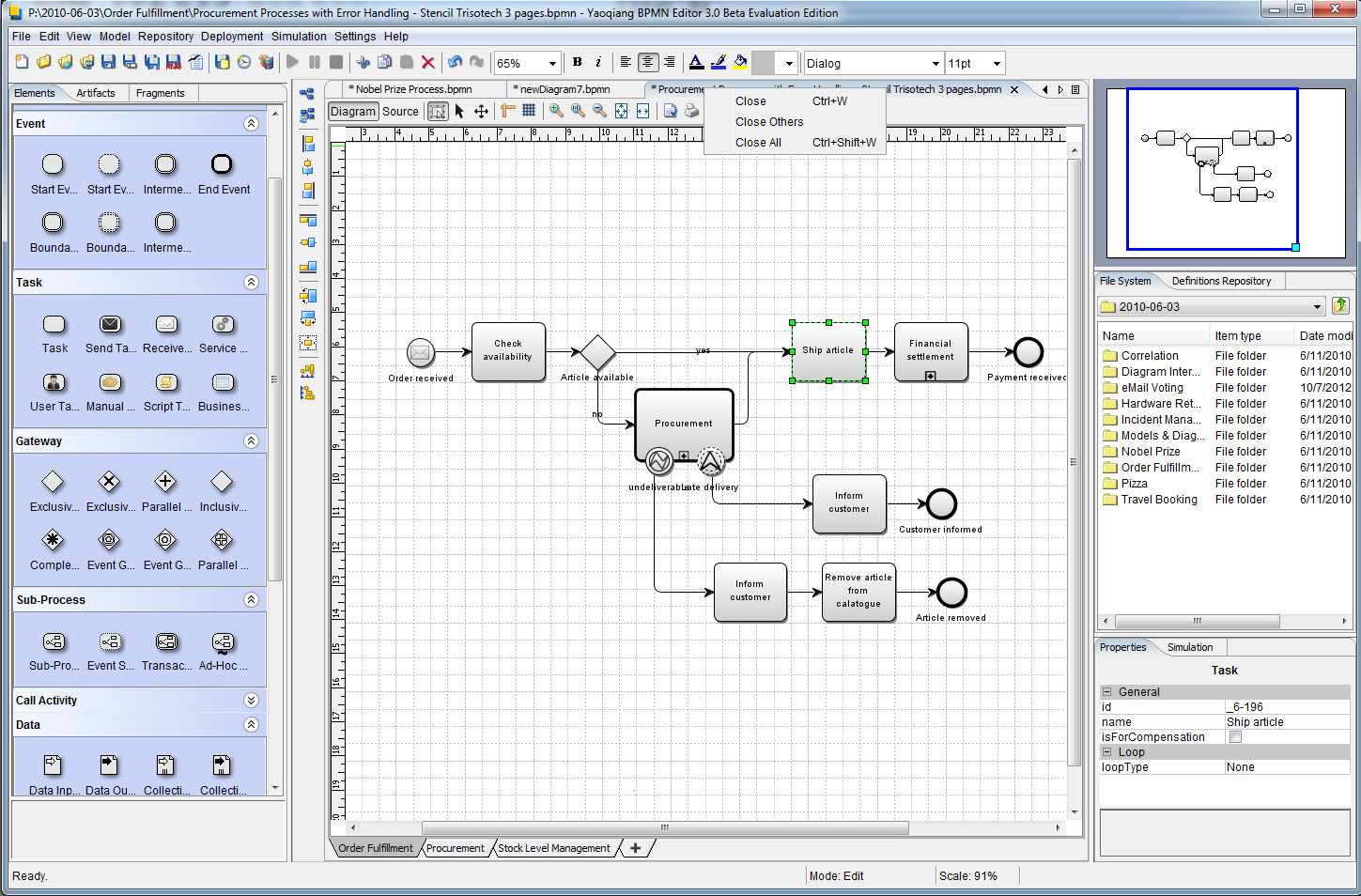 Yaoqiang bpmn editor download Open source diagram tool