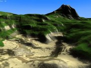 A terrain generation using geomipmapping