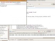 bufo 0.0.3 running under Eclipse IDE