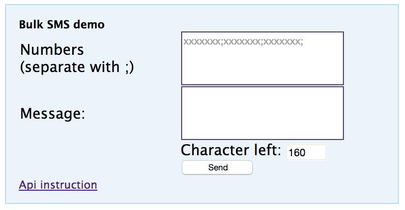 Bulk SMS PHP Script download | SourceForge net