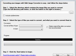Bulk Image Converter download | SourceForge net