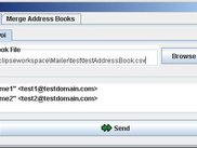 Import your address book