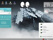 KDE4 Plasmoid ( Linux ) as popup applet