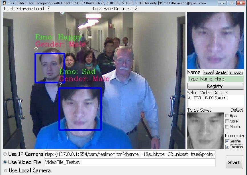 C++Builder Face Recognition March01_2019 download | SourceForge net