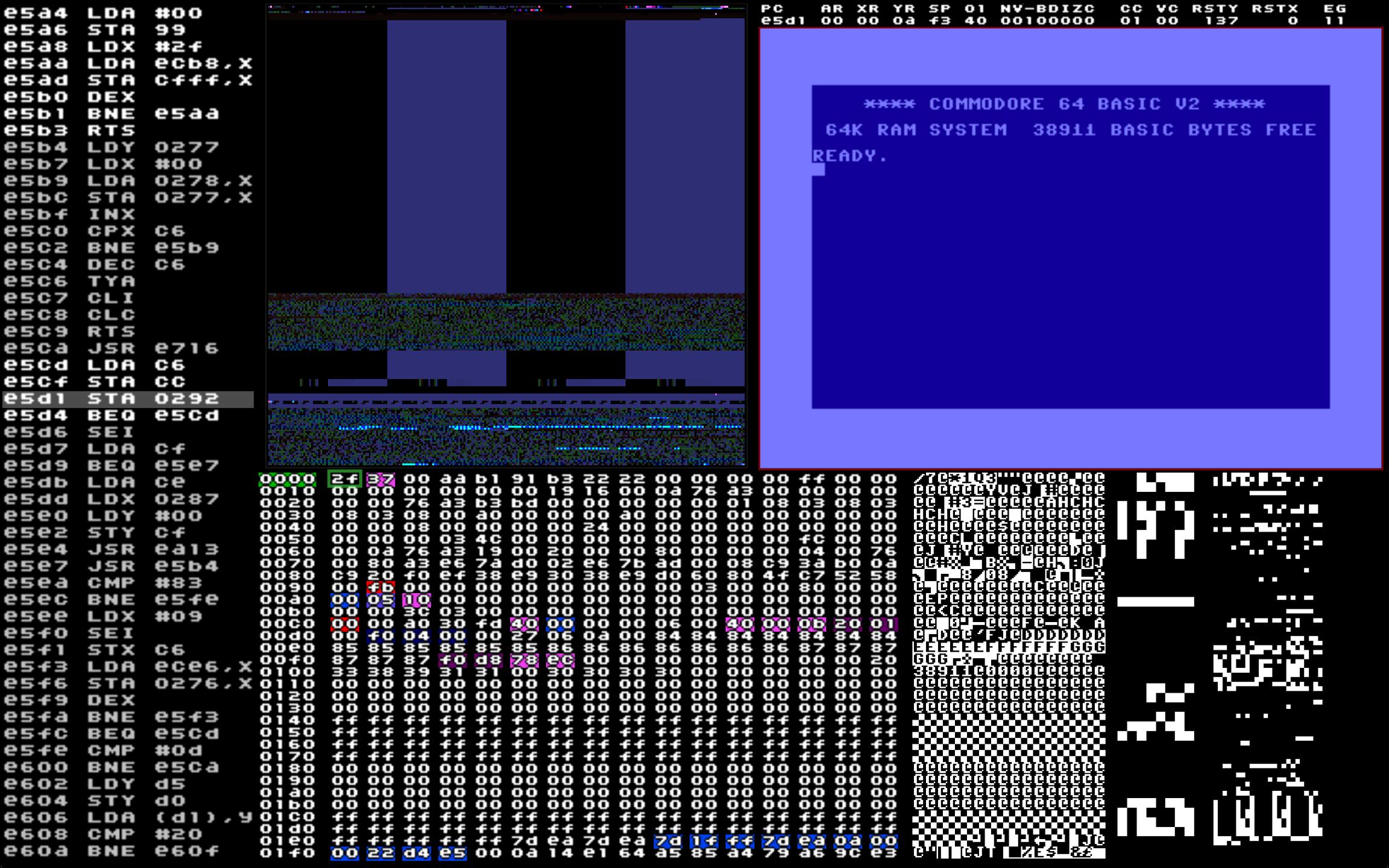 C64 65XE Debugger download   SourceForge net