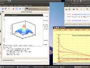 Mathematical modeling with wxMaxima and QtOctave