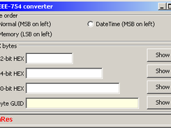 IEEE-754 converter download | SourceForge net