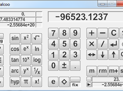 Calcoo - Scientific calculator (java) download | SourceForge net