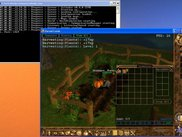 Calindor 0.4.0: Human_Ranger harvesting vegetables...