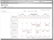 Events Scheduling Page