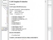 CAM Schema Evaluation Tool