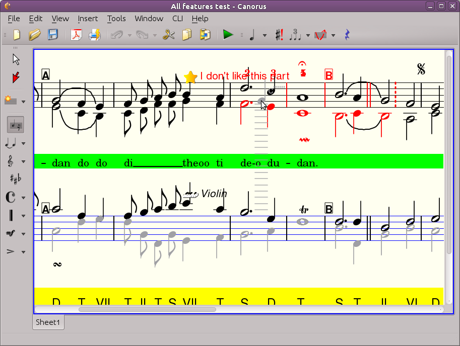 Canorus - music score editor download | SourceForge.net