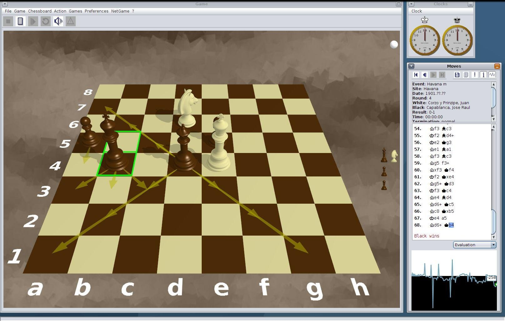 Capa chess download   SourceForge net
