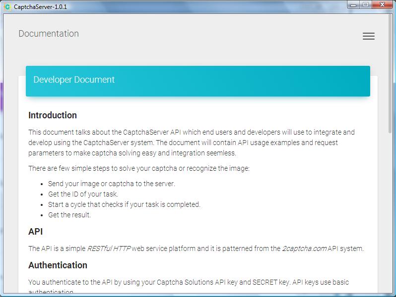 Captcha Server download | SourceForge net