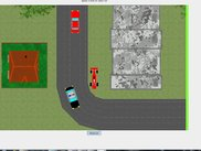 The classic 2D car game screen v:2.0.14