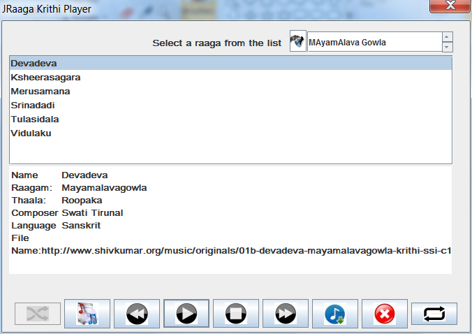 Carnatic Music Guru / JRaaga download   SourceForge net