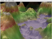 Procedurally generated terrain
