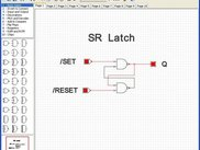 SR Latch implemented with basic gates