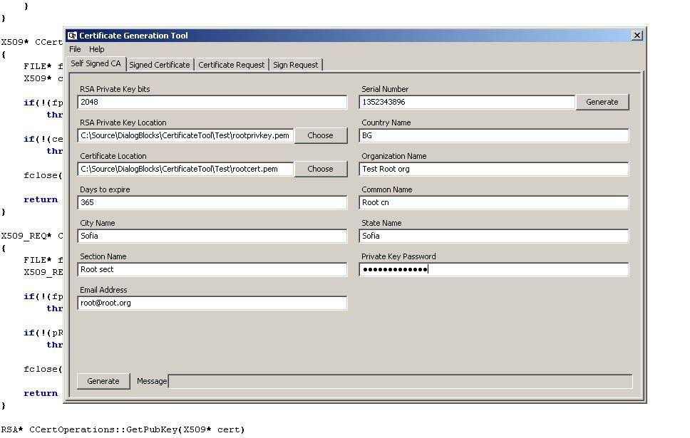 Certificate create and sign tool download | SourceForge net