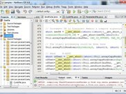 Automatic transformation of jc-samples in NetBeans.
