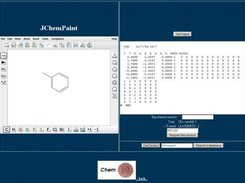 01-Drawing mode with JChemPaint