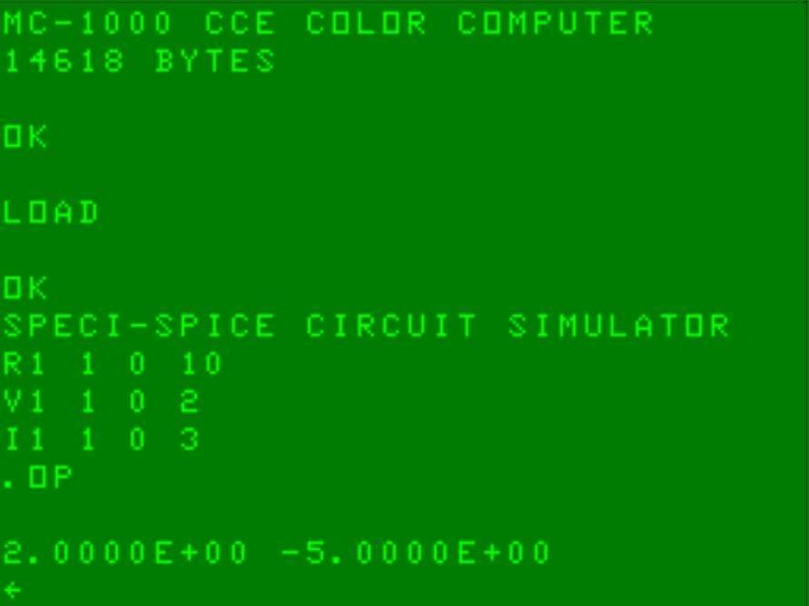 Circuit simulator SPECI-SPICE download | SourceForge net