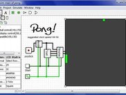 A circuit to play Pong, using Logisim 2.7.0.