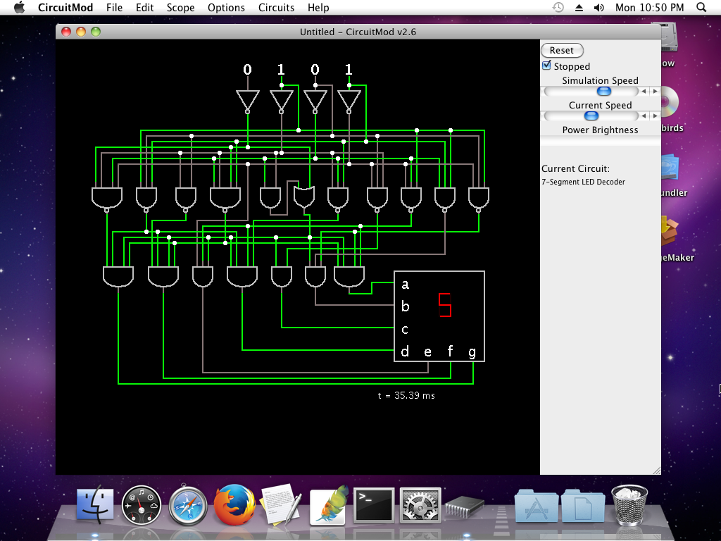 electronic circuit simulation software java circuit and