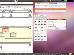 New GUI with menu and toolbar (version 0.8.10, dec.2010)