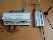 ClassicLadderPLC with GSM modem (on serial port)